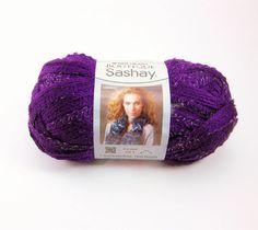 Boutique Sashay Yarn by Red Heart: Purple by PurpleOkapiStudio, $4.75