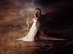 ☆ Athena :¦: By Artist Carlos Quevedo ☆