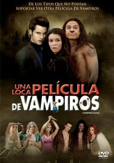 Una loca película de vampiros.