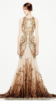 Embroidered Wedding Dress Click for more