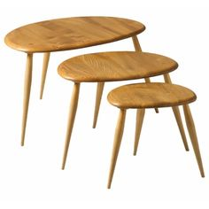 The Ercol Originals - Nest of Tables - Occasional Tables