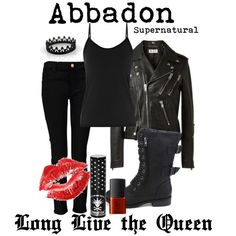 """""""Abbadon from Supernatural"""" by kileyladwig on Polyvore"""