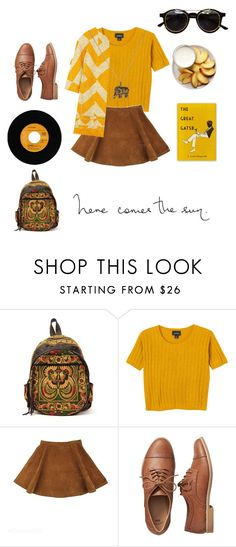 """""""Elephant"""" by sosofo ❤ liked on Polyvore featuring Sabrina Tach, Monki, Dries Van Noten, Gap, Accessorize, Summer, cute, contestentry and 2016"""
