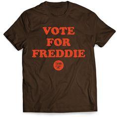 BGSU Falcons Vote for Freddie T-Shirt