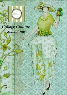 Collage Couture Schablone 3