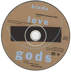 "For Sale -Hindu Love Gods Raspberry Beret USA Promo  CD single (CD5 / 5"")- See this and 250,000 other rare and vintage records & CDs at http://eil.com/"