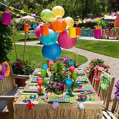 Fun Hawaiian Luau Party Ideas For kidsFun Hawaiian Luau Party Ideas For kids by brtty.king