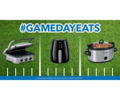 Win Small Appliances in the Best Buy #GameDayEats Twitter Sweep