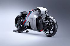 The Lotus C-01 motorcycle is a new design from Daniel Simon, the man responsible for unique automotive designs for companies from Seat, to Lamborghini, to Bugatti. He's also a renowned futurist designer and is single handedly responsible for the Tron Lightcycle from the 2010 film and the Bubbleship piloted by Tom Cruise in the 2013...