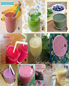 10 Healthy Smoothie Recipes
