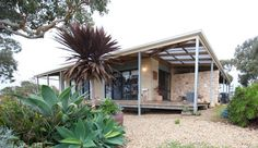 My Houzz: Artist home and studio overlooking Kangaroo Island - eclectic - exterior - adelaide - Jeni Lee