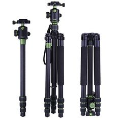 Dual Optional Head for Nikon D3100 Professional Heavy Duty 72 Monopod//Unipod
