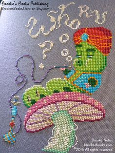 Brooke's Books Wonderland The Caterpillar by BrookesBooksStore