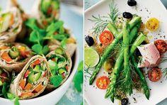 8 lækre retter med grønne asparges