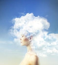 Photo about A woman s mind up in the clouds. Image of background, dream, beauty - 63585223 Mind Up, Photography Women, Photography Ideas, Mindfulness, Clouds, Stock Photos, Portrait, Artwork, Portfolio Website