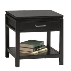 Found it at Wayfair - Sutton End Table in Black