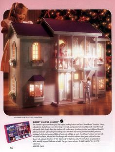 Barbie knows what an ICON she is, so of course she needs her very own Graceland. | The 19 Most Ridiculously Awesome Things About This 1991 Barbie Catalog