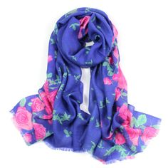 ladies scarves 2015,rose flower print,floral hijab,brand scarf,wool scarf,bandana,pashmina cashmere,shawls and scarves,pashminas #Affiliate