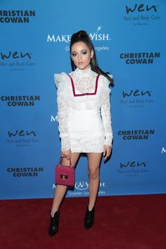 Jenna Ortega Photos - Jenna Ortega is seen attending the PAPER Magazine Runway Benefit For Make-A-Wish Foundation at The Taglyan Complex in Los Angeles, California. - PAPER Magazine Runway Benefit for Make-A-Wish Foundation Paper Magazine, Benefit, Make A Wish Foundation, Jenna Ortega, Stuck In The Middle, Disney Girls, Celebs, Celebrities, Beautiful Eyes
