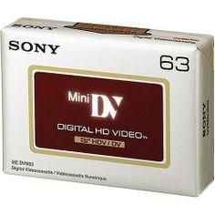 Panasonic 80 minute Linear Plus mini DV cassette DVM80FF - 5 pack of tapes
