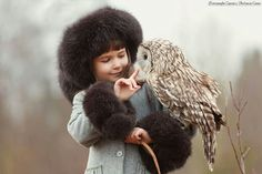 owl friend....amazing..  This is such a beautiful portrait.
