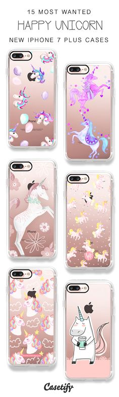 Look, Happy Unicorns are here! 15 Most Wanted Unicorn iPhone 7 Cases / iPhone 7 Plus Cases and other Phone Cases here > https://www.casetify.com/artworks/ucFJvz41yF