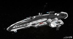 """Commission for It& a United Nations destroyer class spaceship, the """"Phoenix Rising"""". Part one in a three part commission. Spaceship Art, Spaceship Design, Concept Ships, Concept Cars, Planes, Pintura Exterior, Starship Concept, Sci Fi Spaceships, Capital Ship"""