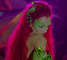 The beautiful Uma Thurman as Poison Ivy in Batman & Robin. (1997)