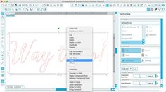 How To Use the Text Tool in Silhouette Studio | Where The Smiles Have Been
