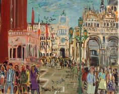 Cityscape Paintings by French Artist Maurice Empi Spanish Artists, French Artists, Figure Painting, Contemporary Artists, Impressionism, Art History, Paintings, Fine Art, Landscape