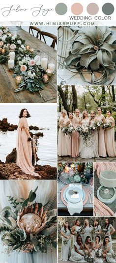 silver sage wedding color palette dusty rose and dusty sage wedding color ideas . silver sage wedding color palette dusty rose and dusty sage wedding color ideas - Burgundy Wedding Colors, Winter Wedding Colors, Wedding Colors For May, Emerald Wedding Colors, Sage Green Wedding, Dusty Rose Wedding, Blush Fall Wedding, Champagne Wedding Colors Scheme, Blush Wedding Palette