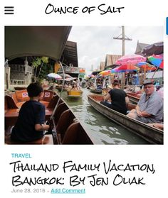 Thailand was a family vacation of a lifetime. Our first stop was in Bangkok. The beautiful hotel Shangri La, the intricate temples, the fresh flower markets, the elephant and crocodile shows, and floating markets made our trip unforgettable. Come explore the magic of Thailand with me through my blog post!