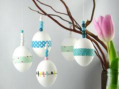 5+Ostereier++Pastell+Türkis+Mint+Blau++zu+Ostern+von+Ixi-und-Frida+auf+DaWanda.com