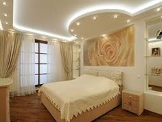Latest false ceiling design ideas for bedroom 2019 As you know, one of the most important roles in the interior is played by the walls and the false ceiling. If you correctly select all the elements of the decor, you can get the perfect room, which will please the eye.