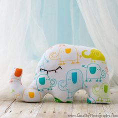 Staffed toy. Elephant toy. Stuffed toy pillow by KIDZCOZY on Etsy, $22.00