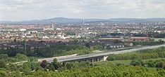 File:Fuerth Nuremberg City Langwasser from Alte Veste f w. Maine, Vatican City, Paris Skyline, Amsterdam, River, Outdoor, Germania, Krakow, Bavaria