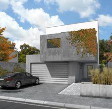 Dom dvoch tvárí, Koliba, Bratislava, Slovensko Architekti Šebo Lichý