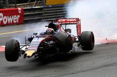Max Verstappen after hitting Grosjean