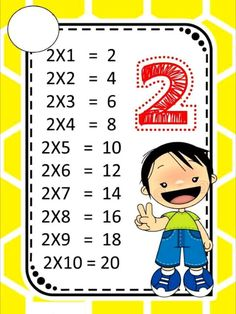 Tabuada do 2 tabuada multiplicação tabuada para imprimir tabuada jogos Math Games, Learning Activities, Kids Learning, Teaching Manners, Teaching Math, Math Helper, Kids Math Worksheets, Classroom Language, 2nd Grade Math