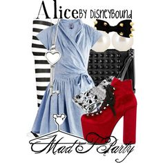 """I just like the dress. –– """"Alice"""" by leslieakay on Polyvore"""