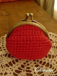 ぷっくりがま口♪の作り方 編み物 編み物・手芸・ソーイング ハンドメイド   アトリエ
