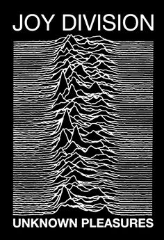 """A fantastic Joy Division poster! The album cover art from their ground-breaking LP Unknown Pleasures! You'll be over""""joyed"""" by the rest of our excellent selection of Joy Division posters! Need Poster Mounts. Joy Division, Rock Posters, Band Posters, Retro Posters, Design Graphique, Art Graphique, Musik Illustration, Rock Indé, Album Covers"""