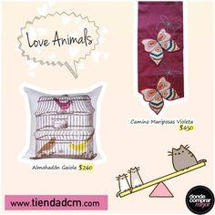 ¡Amor por los animales!   Conseguí estos productos y muchos más en www.tiendadcm.com/products/list/brand/21201