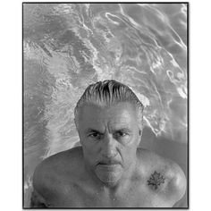 John Irving in a pool, Dorset, Vermont 2005 by Mary Ellen Mark #fineartphotography