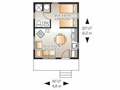 Cabana pequena 1 quarto