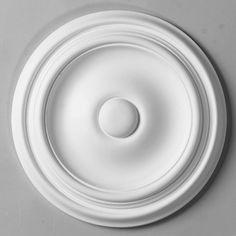 10'' Plain Rings Ceiling Medallion