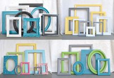 BeautiSHE on Etsy.  Spraypainted everything.  Gorgeous color pallet ideas.