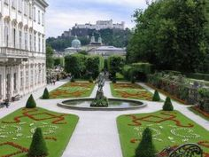 Mirabell Gardens in Salzburg, Austria. I love this place, we visited it along with other places used in the filming of The Sound of Music.