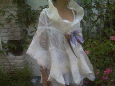 Nuno felted Wedding Wrap-gorgeous