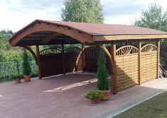 Voilà, l'un de nos plus grands carports.  N'hésitez pas à, consulter notre offre complète des carports sur notre site: www.jardin-déco.com.
